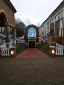 Blessing of new Grotto to Our Lady at St. Simon Stock, Ashford