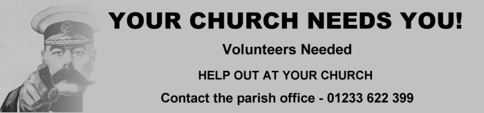 Icon - Church Volunteers Needed