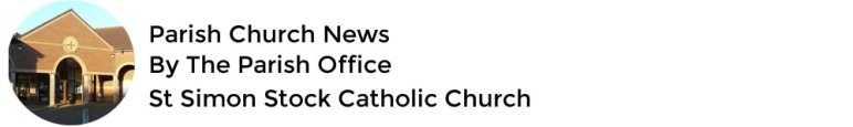 St Simon Stock Catholic Church Website Administrator
